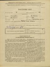 Popis prebivalstva 31. 3. 1931<br />Ljubljana<br />Razpotna ulica 10<br />Population census 31 March 1931