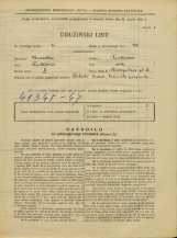 Popis prebivalstva 31. 3. 1931<br />Ljubljana<br />Razpotna ulica 4<br />Population census 31 March 1931