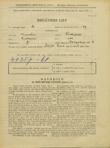Popis prebivalstva 31. 3. 1931<br />Ljubljana<br />Razpotna ulica 8<br />Population census 31 March 1931