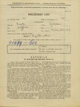 Popis prebivalstva 31. 3. 1931<br />Ljubljana<br />Rečna ulica 6<br />Population census 31 March 1931