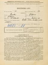 Popis prebivalstva 31. 3. 1931<br />Ljubljana<br />Resljeva ulica 10<br />Population census 31 March 1931