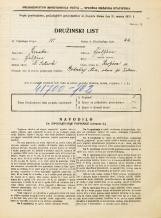 Popis prebivalstva 31. 3. 1931<br />Ljubljana<br />Resljeva ulica 11<br />Population census 31 March 1931