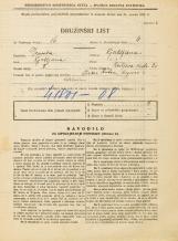 Popis prebivalstva 31. 3. 1931<br />Ljubljana<br />Resljeva ulica 20<br />Population census 31 March 1931
