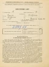 Popis prebivalstva 31. 3. 1931<br />Ljubljana<br />Resljeva ulica 23<br />Population census 31 March 1931