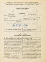 Popis prebivalstva 31. 3. 1931<br />Ljubljana<br />Resljeva ulica 26<br />Population census 31 March 1931
