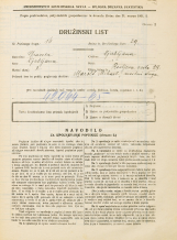 Popis prebivalstva 31. 3. 1931<br />Ljubljana<br />Resljeva ulica 28<br />Population census 31 March 1931