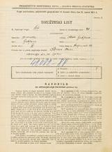 Popis prebivalstva 31. 3. 1931<br />Ljubljana<br />Resljeva ulica 29<br />Population census 31 March 1931