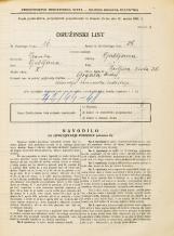 Popis prebivalstva 31. 3. 1931<br />Ljubljana<br />Resljeva ulica 30<br />Population census 31 March 1931