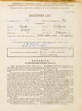 Popis prebivalstva 31. 3. 1931<br />Ljubljana<br />Riharjeva ulica 4<br />Population census 31 March 1931