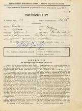 Popis prebivalstva 31. 3. 1931<br />Ljubljana<br />Rimska cesta 10<br />Population census 31 March 1931