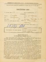 Popis prebivalstva 31. 3. 1931<br />Ljubljana<br />Rimska cesta 12<br />Population census 31 March 1931