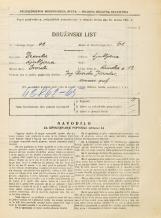 Popis prebivalstva 31. 3. 1931<br />Ljubljana<br />Rimska cesta 13<br />Population census 31 March 1931