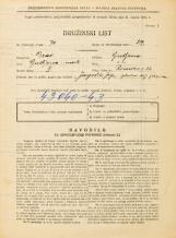 Popis prebivalstva 31. 3. 1931<br />Ljubljana<br />Rimska cesta 22<br />Population census 31 March 1931
