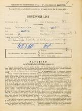 Popis prebivalstva 31. 3. 1931<br />Ljubljana<br />Rimska cesta 3<br />Population census 31 March 1931