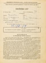 Popis prebivalstva 31. 3. 1931<br />Ljubljana<br />Rimska cesta 4<br />Population census 31 March 1931
