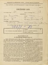 Popis prebivalstva 31. 3. 1931<br />Ljubljana<br />Rimska cesta 7<br />Population census 31 March 1931