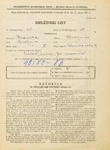 Popis prebivalstva 31. 3. 1931<br />Ljubljana<br />Rimska cesta 9<br />Population census 31 March 1931