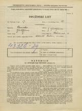 Popis prebivalstva 31. 3. 1931<br />Ljubljana<br />Rožna ulica 13<br />Population census 31 March 1931