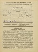 Popis prebivalstva 31. 3. 1931<br />Ljubljana<br />Rožna ulica 15<br />Population census 31 March 1931