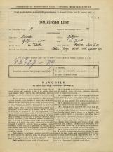 Popis prebivalstva 31. 3. 1931<br />Ljubljana<br />Rožna ulica 25<br />Population census 31 March 1931