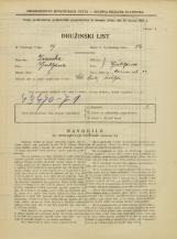 Popis prebivalstva 31. 3. 1931<br />Ljubljana<br />Rožna ulica 29<br />Population census 31 March 1931