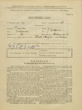 Popis prebivalstva 31. 3. 1931<br />Ljubljana<br />Rožna ulica 35<br />Population census 31 March 1931