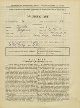 Popis prebivalstva 31. 3. 1931<br />Ljubljana<br />Rožna ulica 39<br />Population census 31 March 1931