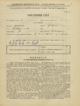 Popis prebivalstva 31. 3. 1931<br />Ljubljana<br />Rutarjeva ulica 9<br />Population census 31 March 1931