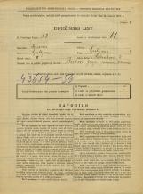 Popis prebivalstva 31. 3. 1931<br />Ljubljana<br />Salendrova ulica 4<br />Population census 31 March 1931
