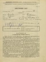Popis prebivalstva 31. 3. 1931<br />Ljubljana<br />Salendrova ulica 6<br />Population census 31 March 1931