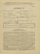 Popis prebivalstva 31. 3. 1931<br />Ljubljana<br />Samova ulica 4a<br />Population census 31 March 1931