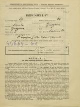 Popis prebivalstva 31. 3. 1931<br />Ljubljana<br />Sredina 10<br />Population census 31 March 1931