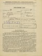 Popis prebivalstva 31. 3. 1931<br />Ljubljana<br />Sredina 8<br />Population census 31 March 1931