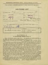 Popis prebivalstva 31. 3. 1931<br />Ljubljana<br />Staničeva ulica 21<br />Population census 31 March 1931