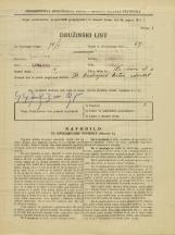 Popis prebivalstva 31. 3. 1931<br />Ljubljana<br />Staničeva ulica 3<br />Population census 31 March 1931