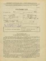 Popis prebivalstva 31. 3. 1931<br />Ljubljana<br />Stari trg 11<br />Population census 31 March 1931