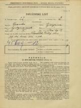 Popis prebivalstva 31. 3. 1931<br />Ljubljana<br />Stari trg 14<br />Population census 31 March 1931