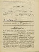 Popis prebivalstva 31. 3. 1931<br />Ljubljana<br />Stari trg 17<br />Population census 31 March 1931