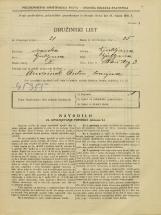 Popis prebivalstva 31. 3. 1931<br />Ljubljana<br />Stari trg 3<br />Population census 31 March 1931