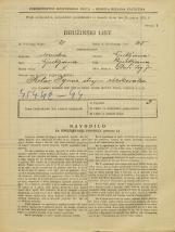 Popis prebivalstva 31. 3. 1931<br />Ljubljana<br />Stari trg 7<br />Population census 31 March 1931