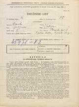 Popis prebivalstva 31. 3. 1931<br />Ljubljana<br />Stranska pot 9<br />Population census 31 March 1931