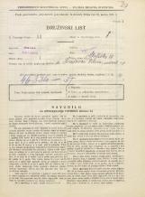 Popis prebivalstva 31. 3. 1931<br />Ljubljana<br />Streliška ulica 19<br />Population census 31 March 1931