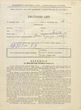 Popis prebivalstva 31. 3. 1931<br />Ljubljana<br />Streliška ulica 22<br />Population census 31 March 1931
