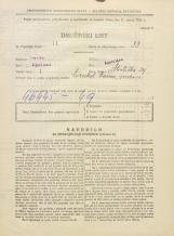 Popis prebivalstva 31. 3. 1931<br />Ljubljana<br />Streliška ulica 29<br />Population census 31 March 1931