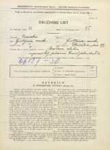 Popis prebivalstva 31. 3. 1931<br />Ljubljana<br />Streliška ulica 8<br />Population census 31 March 1931