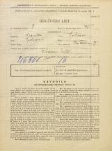 Popis prebivalstva 31. 3. 1931<br />Ljubljana<br />Stritarjeva ulica 3<br />Population census 31 March 1931