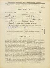 Popis prebivalstva 31. 3. 1931<br />Ljubljana<br />Strmi pot 2<br />Population census 31 March 1931