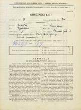 Popis prebivalstva 31. 3. 1931<br />Ljubljana<br />Strmi pot 6<br />Population census 31 March 1931