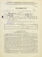 Popis prebivalstva 31. 3. 1931<br />Ljubljana<br />Strmi pot 8<br />Population census 31 March 1931