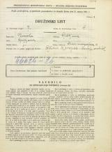 Popis prebivalstva 31. 3. 1931<br />Ljubljana<br />Strossmayerjeva ulica 4<br />Population census 31 March 1931